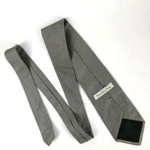 Robert Talbott Protocol Silk Neck Tie Silver